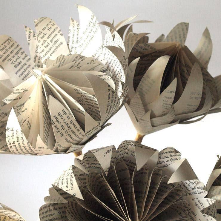 Hand Made Paper Proteas